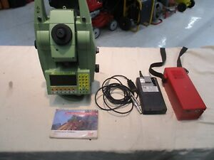 Leica Tcra 1103plus Total Station Robotic Pre owned Free Shipping