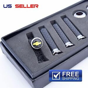 Carbon Fiber Door Lock Pin Knob For Chevy Chevrolet Us Seller Fast Free Shipping