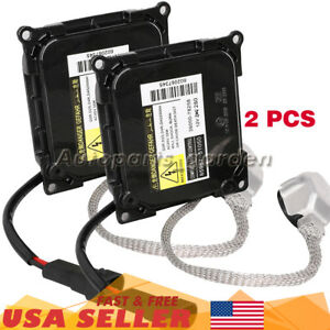 2x Xenon Hid Light Ballast Control Module Unit For Lexus Gs350 85967 52020 D4s R