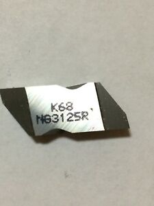 Kennametal Top Notch Grooving Insert K68 Ng3125r Pack Of 5 Inserts