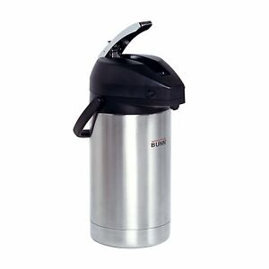 Coffee Airpot Stainless Steel Coffeemaker Espresso Machine Pot Lids 3 L Brewer