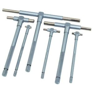 Telescopic Gauge Set Machinists Hand Tool Tools Inside Bore Snap Gauges