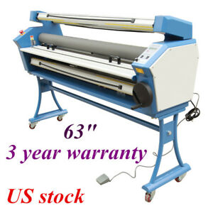 Us Ving 63 Full auto Low Temp Wide Format Cold Laminator With Heat Assisted