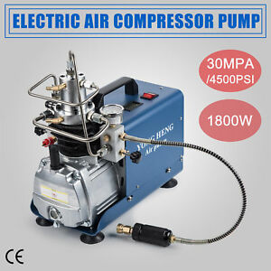 110v Pump Electric High Pressure 30mpa Air Compressor System Rifle Pcp Air Gun
