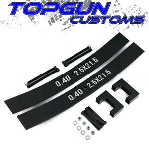 Fits 63 85 Toyota Pickup 1 5 2 Rear Short Add a leaf Lift Kit With Extensions