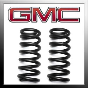 2 Front Lowering Kit Fits 1988 1998 Gmc Sierra C1500 2wd Coil Spring Drop Kit