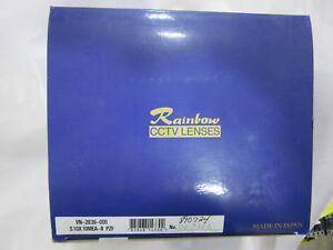 Rainbow S10x10mea ii Pzf Camera 10 100mm 1 14 Lens Tv Zoom New In Factory Box