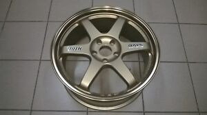 Wheel 1pcs Jdm Rays Volk Racing Te37 19x8 5j 100 Original Japan Mazda Rx7 Rx8