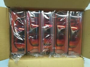 3m Fuel X2 Safety Glass Protective Eyewear 10 Dark Copper Frame Red Mirror