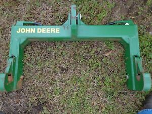 John Deere Tractor 3 point Quick Hitch