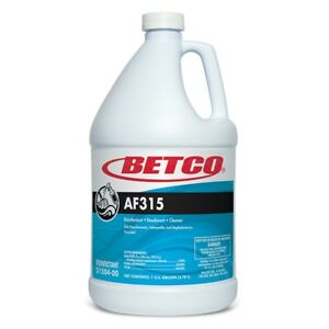 Betco 31504 00 Af315 1 Gal Disinfectant Cleans Pack Of 4