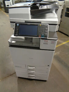 Ricoh Mp C4503 Color Copier Total Meter 196k Ct