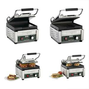 Sandwich Makers Panini Presses Waring Commercial Wpg150 Compact Italian style