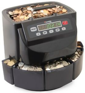 Coin Sorter Roller Rollers Money Counter Change Bank Automatic Canadian Coins