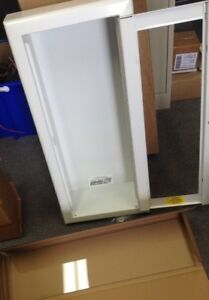 Semi Recessed Fire Extinguisher Cabinet White 7023 a Potter Roemer 24x9x5 3 4 id