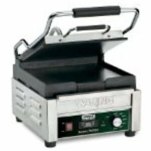 Contact Grills Waring Commercial Wfg150t Flat Panini Timer 120 volt
