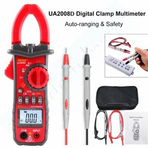 Ua2008d Digital Clamp Multimeter Testing Ac Dc Current voltage temperature