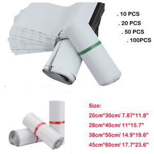Wholesale White Postal Mailing Bags Mailers Package Shipping Strong Poly Bags