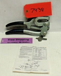Roper Whitney 5 Jr Hand Punch 130010050 Made In U s a Free Shipping