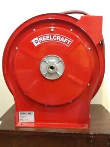 Reelcraft Spring Retractable Air Hose Reel 50ft X 3 8 300 Psi Pick Up Only