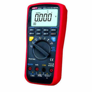Ut531 Hybrid Car Digital Multimeter Insulation Tester 1000v Trms 10func Max Min