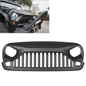 Front Angry Bird Gladiator Grille For Jeep Wrangler 2007 2017 Jk