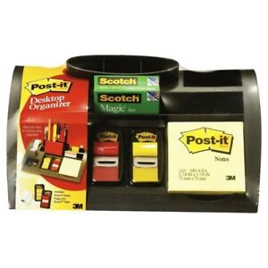 3m Post it C50 Desk Organiser Set With Tape And Post Ti