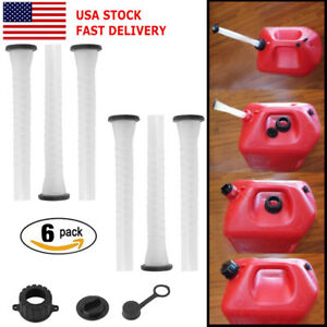 6x Replacement Spout Parts Kit For Rubbermaid Kolpin Gott Jerry Can Fuel Gas Q