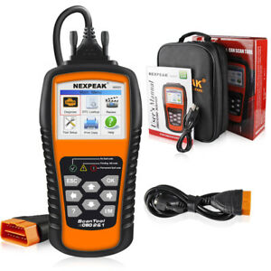 Nexpeak Auto Obd2 Scanner Car Code Reader Diagnostic Engine Check Tool Nx501 Us
