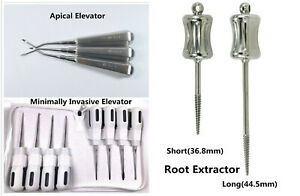 1kit Dental Tooth Extraction Apical Elevators Root Tip Extracting Forceps Pliers
