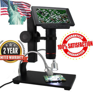 Andonstar Hdmi Microscope 5 Inch Lcd Digital Microscope For Pcb Repair Tool