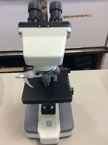 National Microscope Binocular Biology Microscope 4x 10x 40x 100x Fluorescent