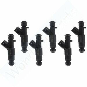 Fuel Injectors For 2000 2003 Dodge Ram 2500 Van 5 2l 04 99 Jeep Grand Cherokee