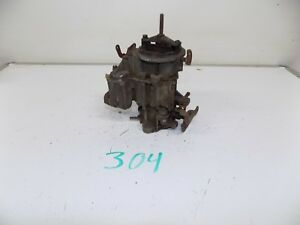1968 1969 Chevy Monojet 1 Barrel Rochester Carburetor 7029014 297 8 Bb
