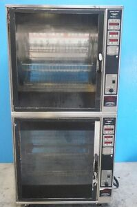 Henny Penny Double Stacked Electric Rotisserie Oven Scr 8