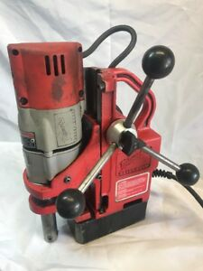 Milwaukee Electromagnetic Magnetic Drill Press 4270 20 Industrial Tool Free Ship