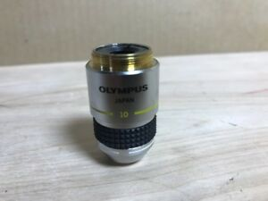 Olympus 10x 0 25 160 0 17 Phase Contrast Microscope Objective A10nh