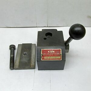 Kdk 100 Series Lathe Tool Post In Good Shape 12 16 Swing Lathes D6800