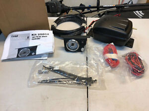 New Air Lift 25804 Air Load Shock Controller On Board Compressor Suspension Kit