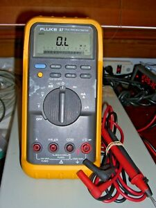 Fluke 87 True Rms Digital Multimeter passes Fluke Performance Verification