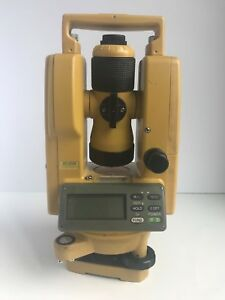 Topcon Dt 209 Optical Digital Theodolite With Carrying Case Dt 200