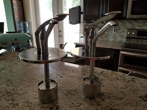 2 Stainless Steel Pumps For Syrup Dispensing 10 Cans