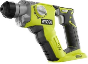 Ryobi 18 volt One 1 2 In Cordless Rotary Hammer Drill Construction Tool