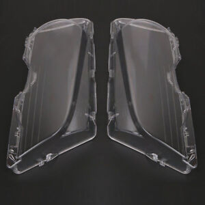 Fit For 99 03 Bmw E46 2dr M3 2001 06 Car Headlight Lens Cover Shell Set Of 2 Ot