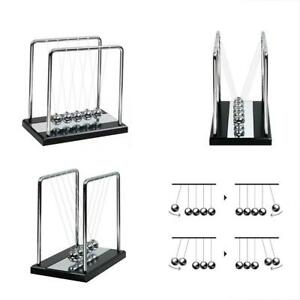 Newton s Cradle Physics Balance Balls With Wooden Base Science Classroom Puzzle