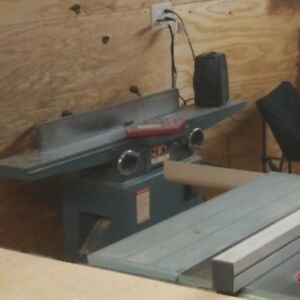 Jet Jointer 708456 3 4 Hp Jointer Model jj 6cs 6 x46 Wired For 120v 230v