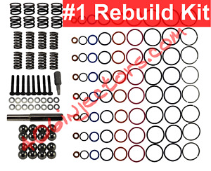 7 3 Powerstroke Injector Deluxe Rebuild Kit With Tools 1994 2003 7 3