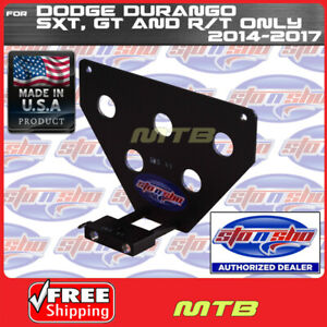 License Plate Bracket For 14 17 Dodge Durango Sxt Gt And R t Sto N Sho Sns109