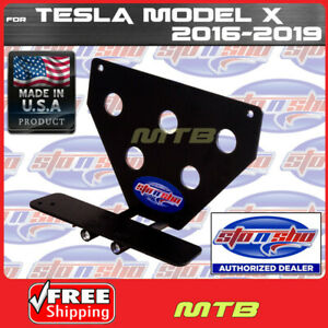 License Plate Bracket For 2016 18 Tesla Model X Quick Release Sto N Sho Sns112