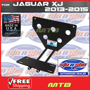 License Plate Bracket For 2013 2015 Jaguar Xj Quick Release Sto N Sho Sns78
